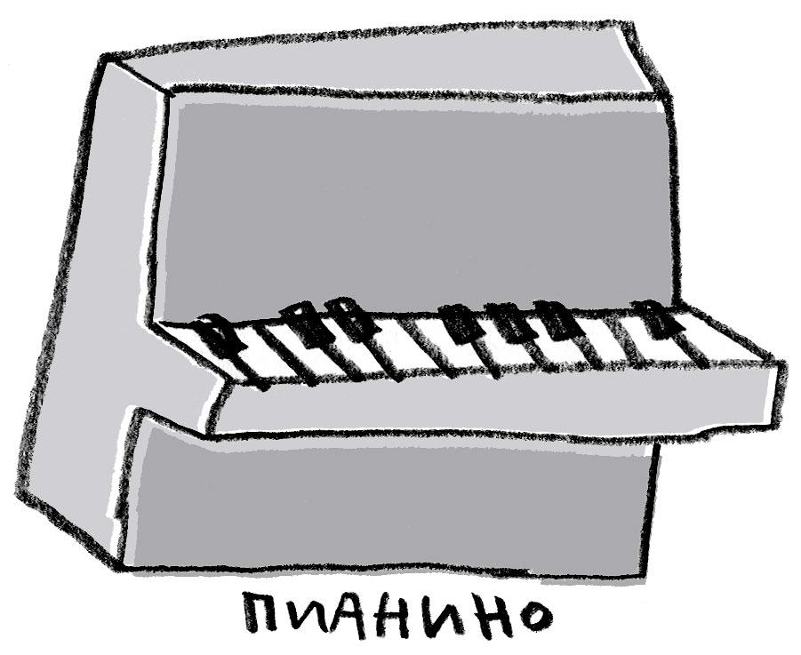 музыка-пианино
