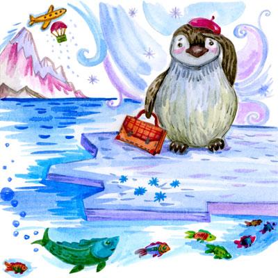 Путешествие-пингвиненка