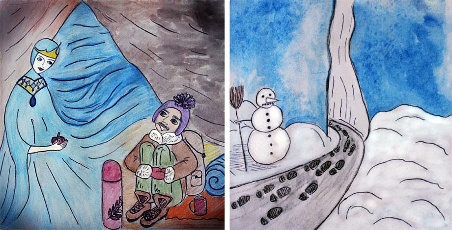 зима-сказка